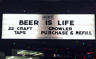 Brew-Fest at Archive Beer Boutique