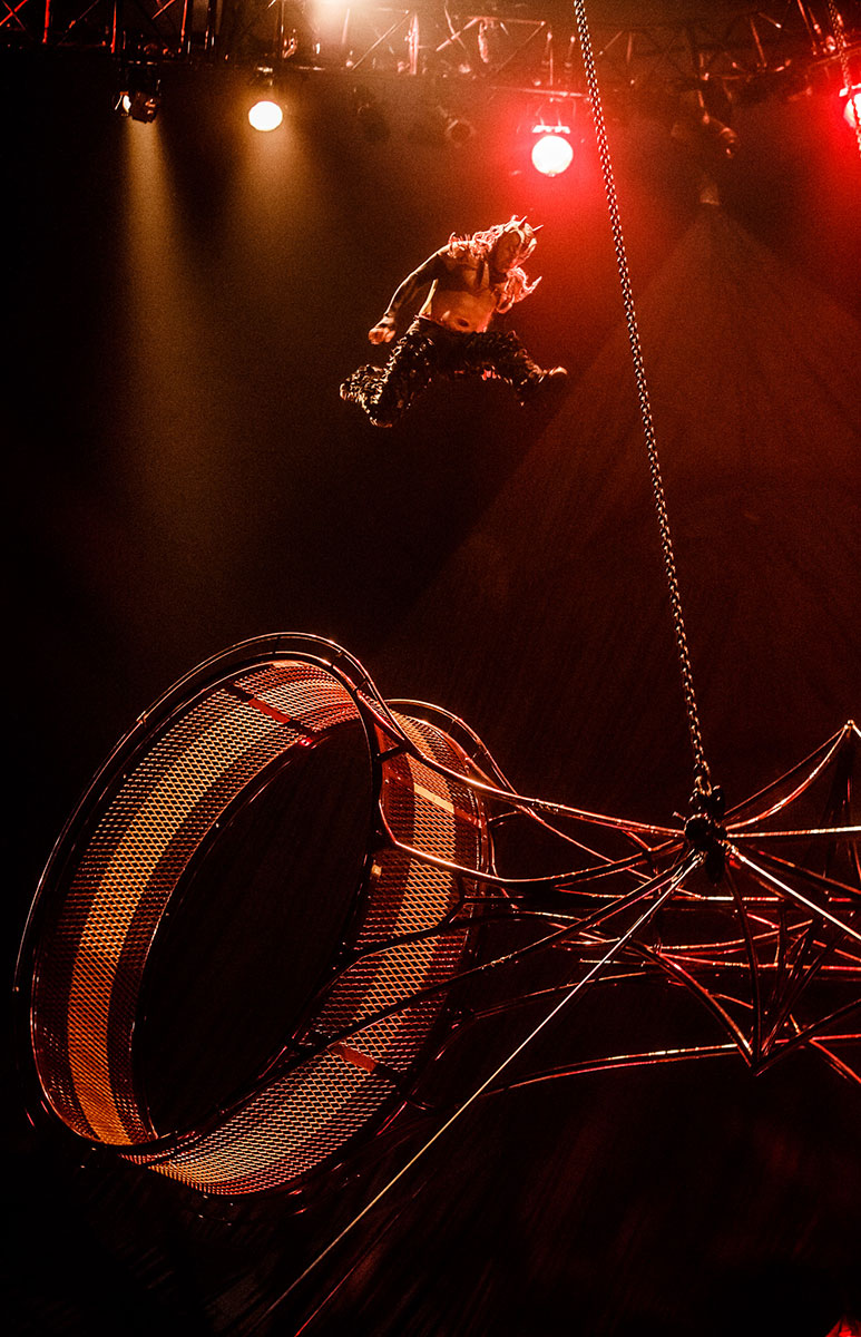 Cirque Du Soleil Wheel Of Death: Meet Kooza's Jimmy Ibarra
