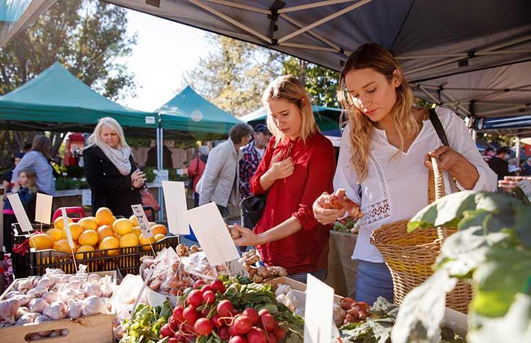 Manly Fresh Food Markets Brisbane