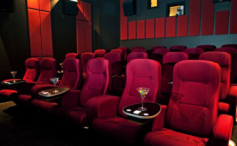 Blue Room Cinebar Seating